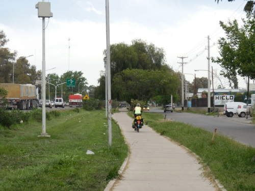 Mendoza bike path