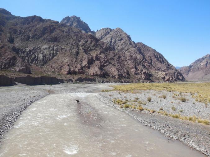 Mendoza river view 1