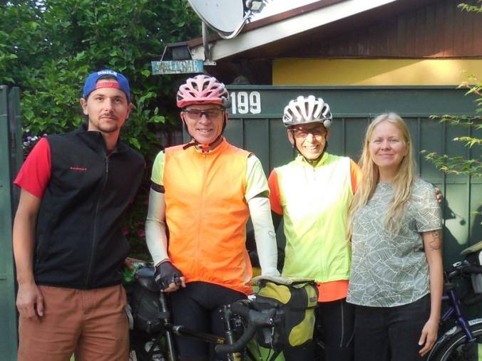 Moritz, Dave, Nancy and Jen