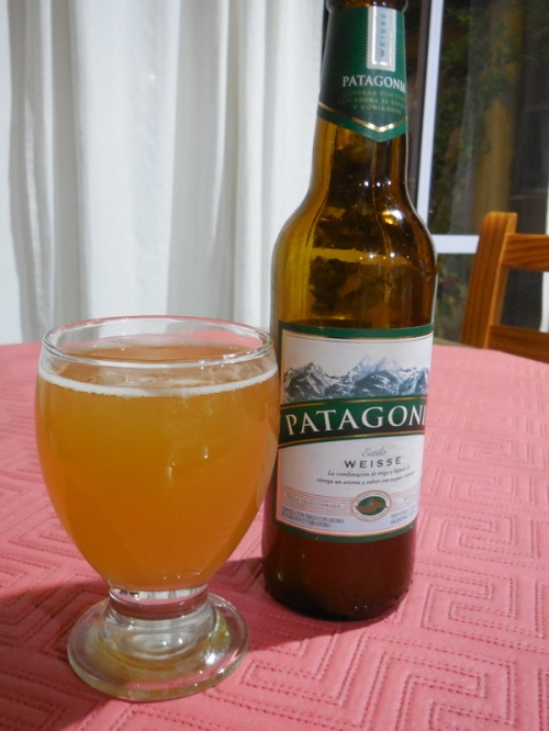 Patagonia beer - not too bad