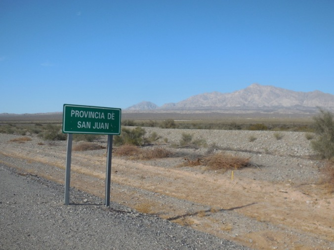San Juan state line