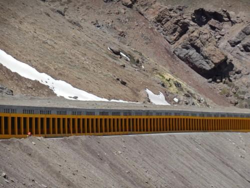 Summit snow cover