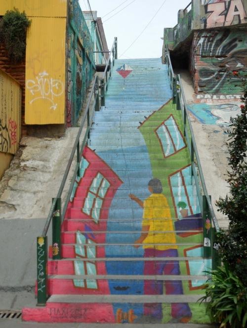 Valparaiso stairs 2