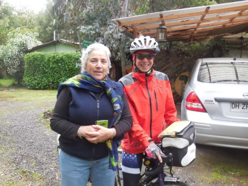Campground host and Nancy