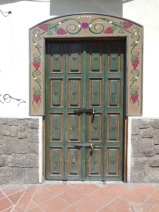 Cuenca door of the day 1