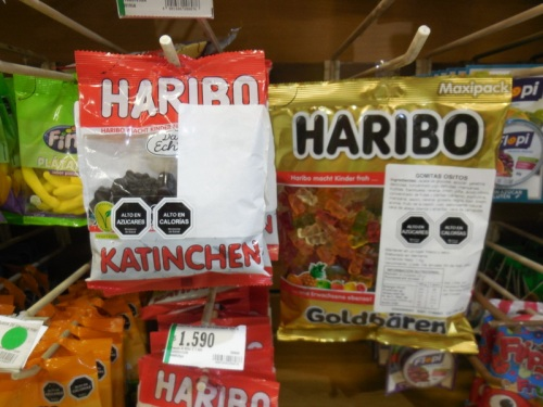 German candy in the stores