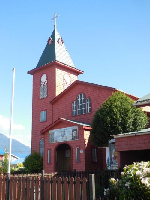 Hornopirén church