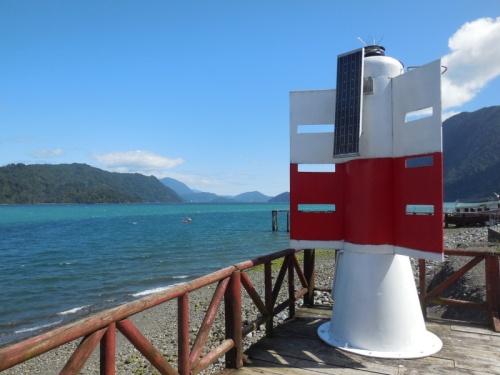 Hornopirén waterfront