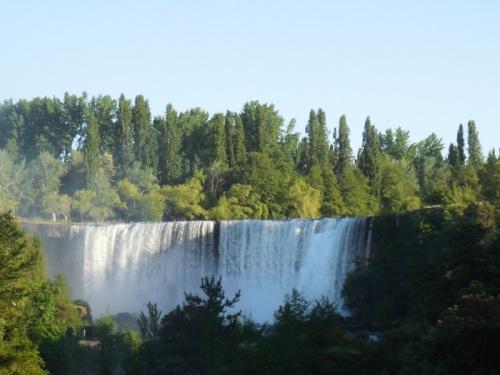 Laja Falls in the morging