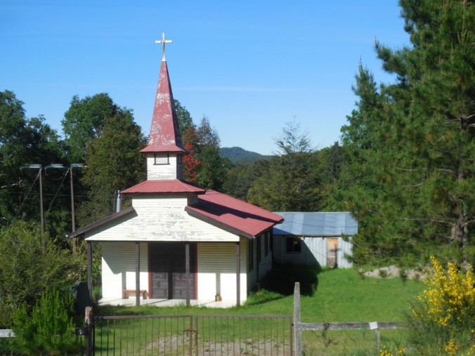 Old wooden church