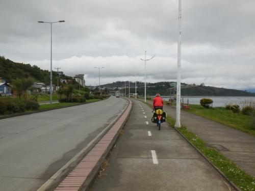 Puerto Montt bike path