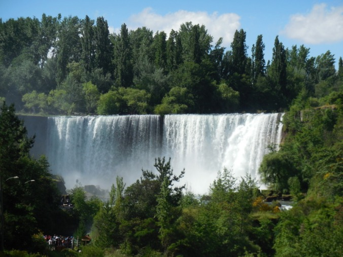Salto del Laja falls 1