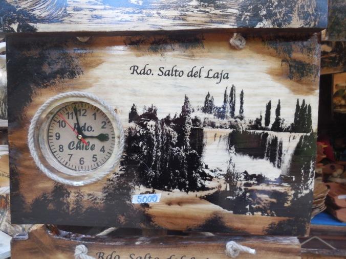 Salto del Laja falls - wanted to buy