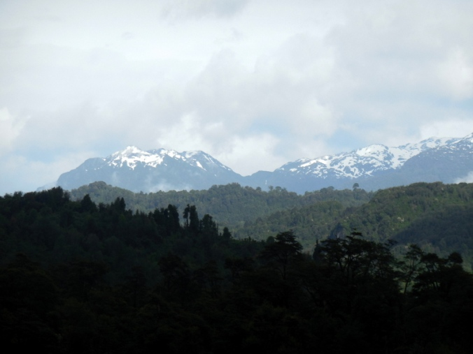 Snow capped mountains 1