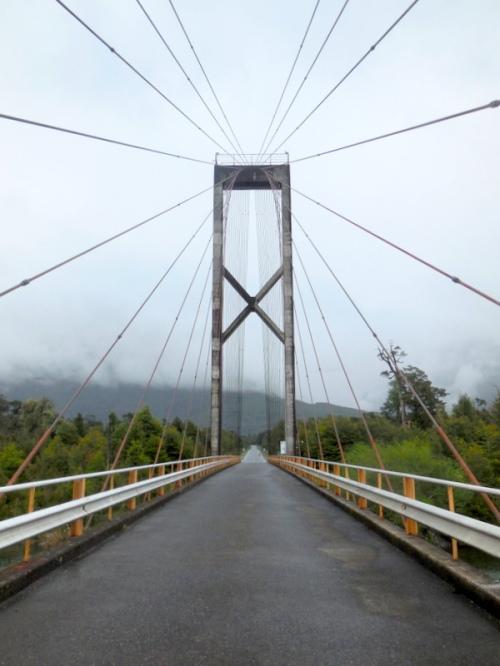 Yelcho river bridge 2