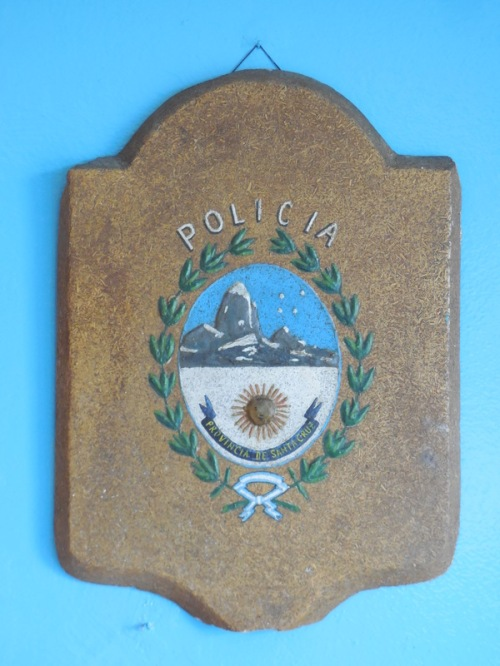Police station badge