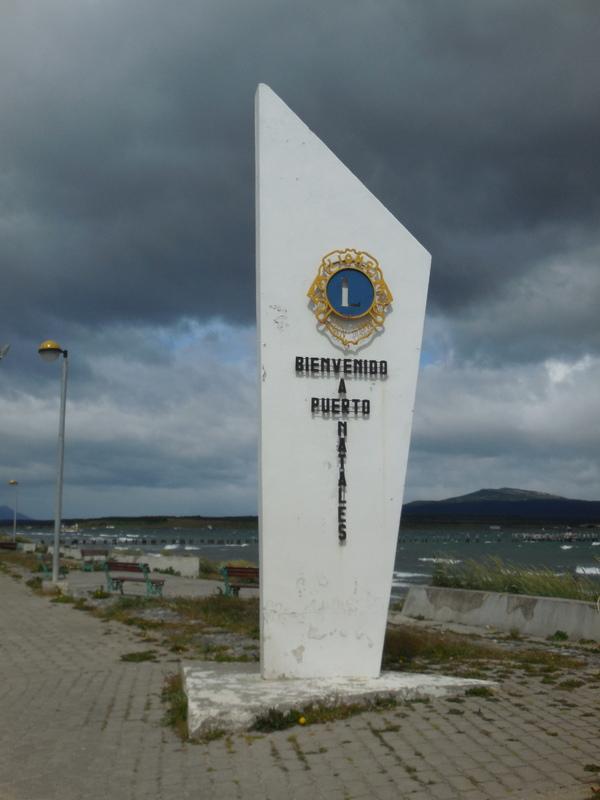 Puerto Natales sign