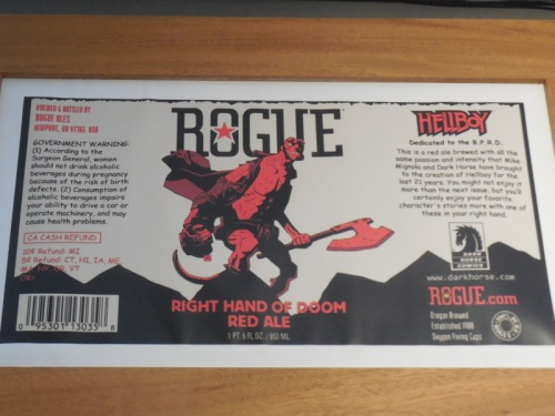 Rogue beer from Oregon