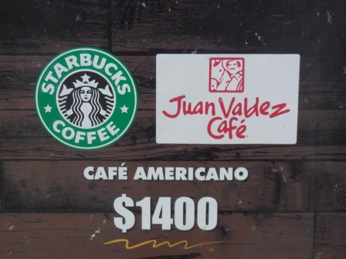 Starbucks and Juan Valdez