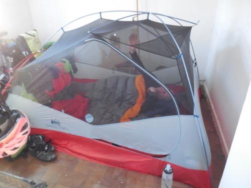 Tent in room