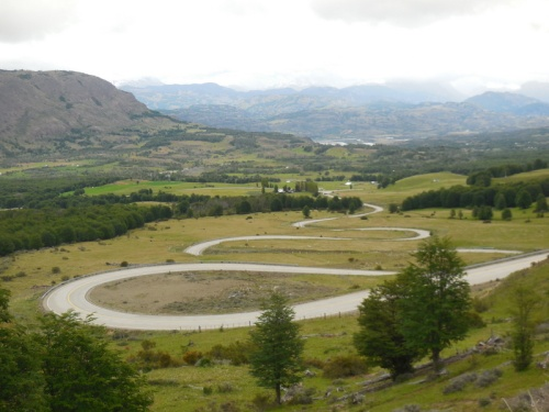 Cerro Castillo switchbacks