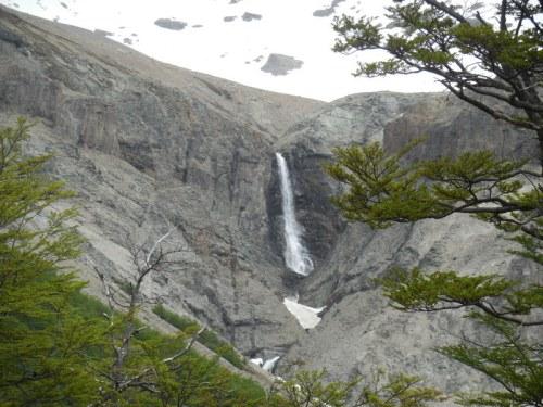 Cerro Castillo waterfall
