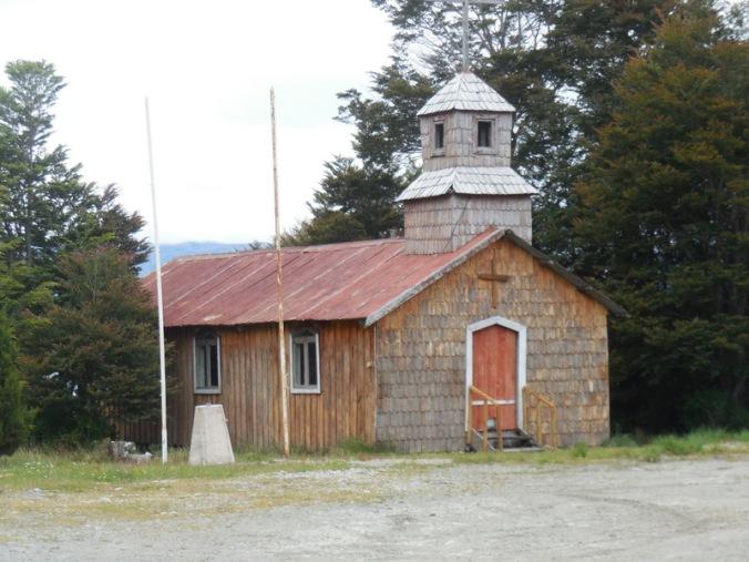 Puerto Yungay church