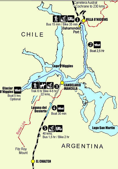 Villa O map 2