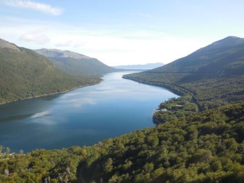 lago escondido from above 2