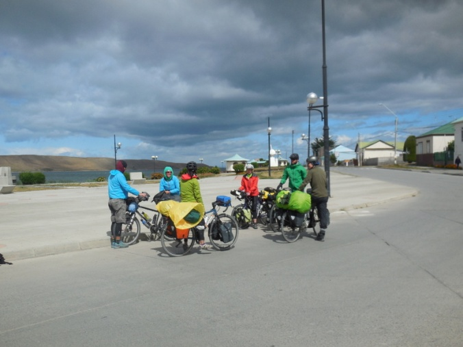meeting cyclists