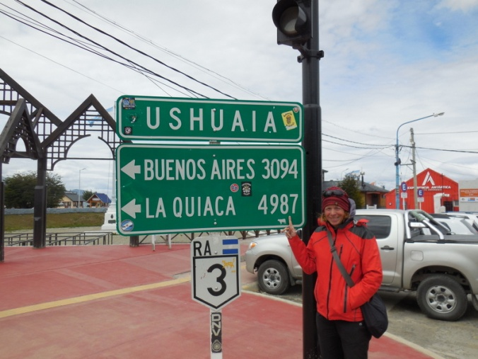 we crossed in to argentina in la