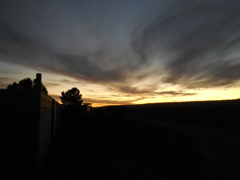 Nullaarbor sunset 7