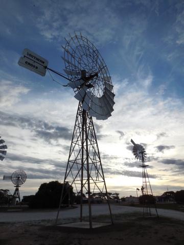 Penong windmills 1