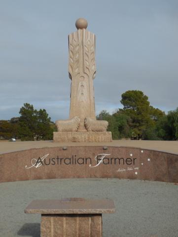 Australian Farmer monument