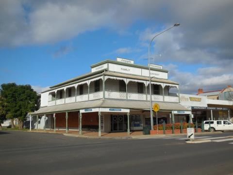 Hay town building