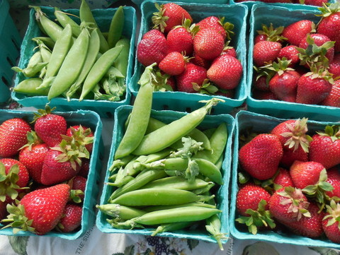 Strawberries and Peas 2