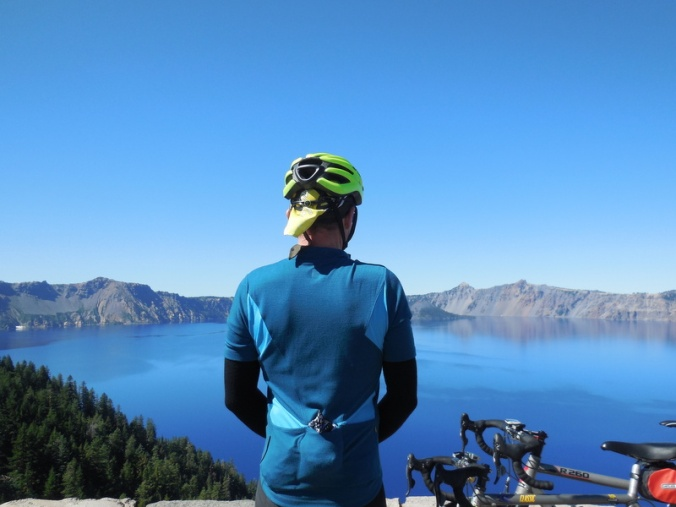 Crater Lake - Dave's blue shirt 1
