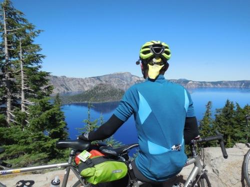 Crater Lake - Dave's blue shirt 6