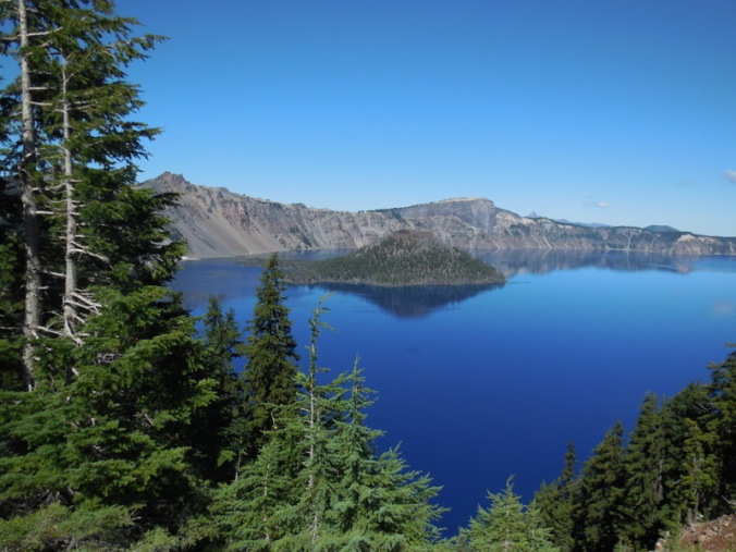 Crater Lake - Wizzard Island 1