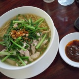 Dave's lunch - good pho