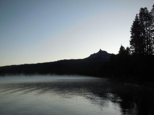 Diamond Lake in morning 3