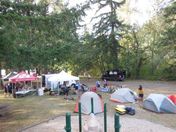 Doreen Lake camp
