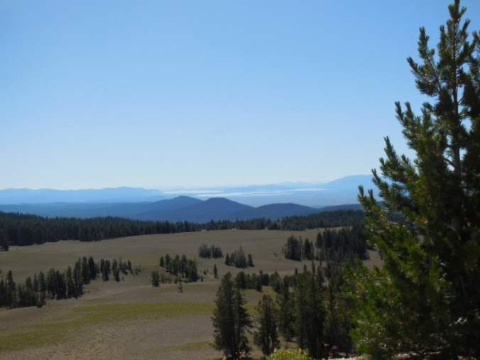 Kalamath Lake in the distance