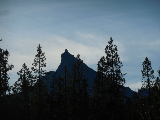 Mount Thielsen - last photo