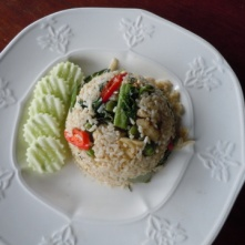 Nancy'a green curry rice