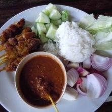 Satay lunch