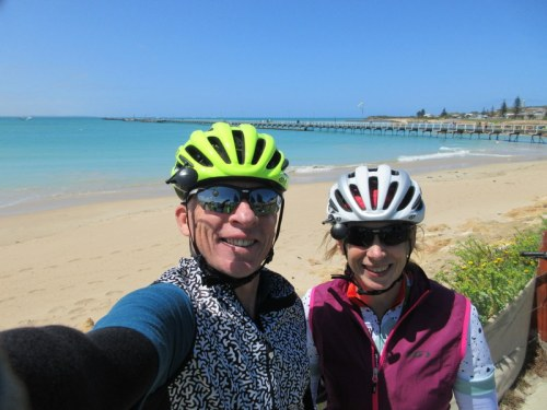 Beechport lunch - happy with wind