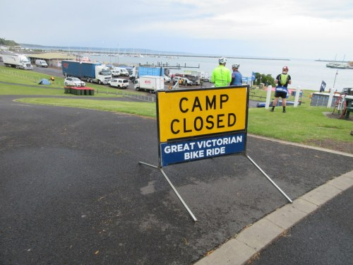 Sad closed camp