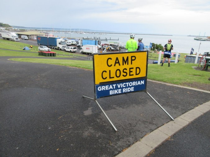 Sad closed camp