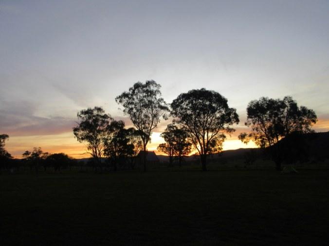 Bylong sunset